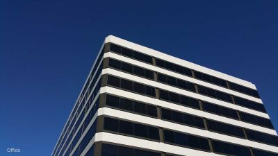 Blue sky & Costa Mesa Office